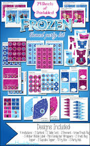 disney u0027s frozen party printable free