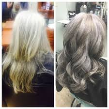 highlights lowlights gray hair google search silver hair