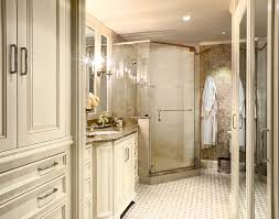 Bathroom Neutral Colors - emperador light marble with neutral colors bathroom traditional