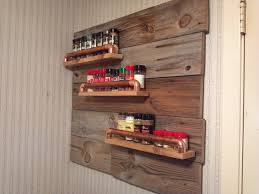 kitchen spice storage ideas decorating lovable wooden spice rack furnishing your winsome