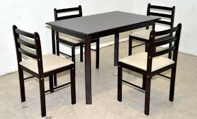 4 Seat Dining Table And Chairs Dining Table Set Starter Lorenz Furniture