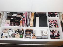 ikea skubb drawer organizer make up storage skubb ikea malm organisation drawers
