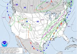 Weather Fronts Map Current Pattern Draws Comparisons To Historically Cold December