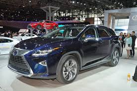 lexus rx330 rx350 rx400h quarter window trim 2016 lexus rx first look motor trend