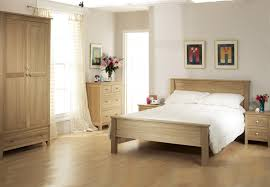 solid oak bedroom furniture wall mounted wooden brown rectangle