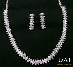 swarovski diamond necklace images Cubic zirconia swarovski elements designer necklace earring set jpg