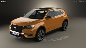 360 view of ds7 crossback 2017 3d model hum3d store