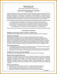 resume format exles for hr manager resume format lovely human resource management resume