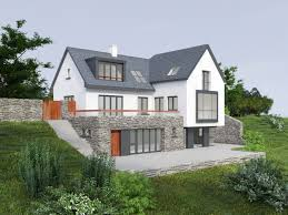 House Designs Ireland Dormer Split Level Bungalow With Gable Roof And Dormer Windows Also Has