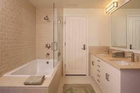Rustic Tile Bathroom - heath ceramic tile bathroom rustic with tan wool area rugs