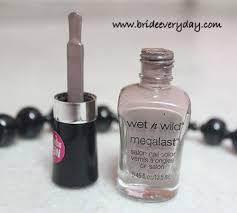 n wild megalast salon nail color u2013 201c wet cement review swatch