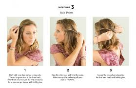 nice hairstyle for short medium hair with one hair band really easy hairstyles blonde medium length