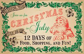 celebrating a texas christmas in july texas treats