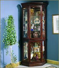 curio cabinet mahogany lighted corner curiot ideas beadboard vs