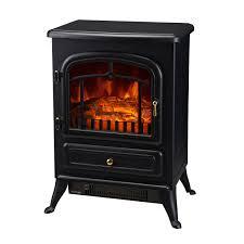 aosom homcom 1500w free standing fireplace with remote