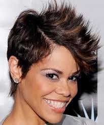 short haircut styles for black women