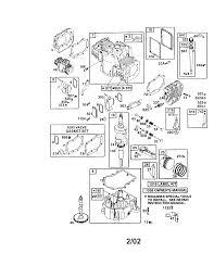 briggs u0026 stratton engine parts model 42e707 2275 e1 sears