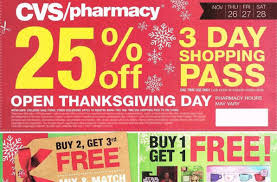 cvs pharmacy black friday deals discounts ad printout the