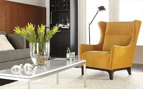 Modern Chair For Living Room Marcel Accent Chair Room By R B Modern Living Room