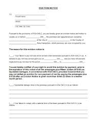 Sample Letter Of Intent To Occupy Residence As Primary Residence by 100 Notice Of Eviction Form Notice Of Deposition Forms 6