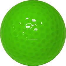 golf balls light green custom printed 3 color bulk bagged