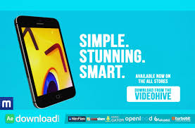 appidea mobile app or game trailer after effects project