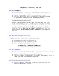 Singapore Visa Covering Letter Sle singapore visa covering letter sle images cover letter sle