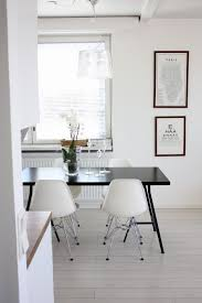 black table white chairs 36 best white chairs with dark table images on pinterest dinner