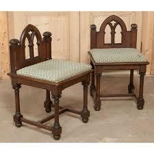 pair of antique gothic vanity chairs inessa stewart u0027s antiques