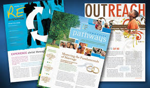 creative church bulletins u0026 christian newsletters layout