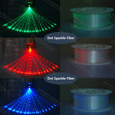 factory retails meter 0 5mm side pointed le abajur fiber optic led waterfall curtain light wall lighting