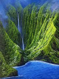 Hawaii Waterfalls images Lovely molokai hawaii waterfalls love waterfallslove photo jpg