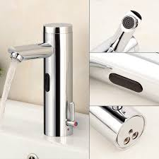 Automatic Bathroom Faucet by Hygienic Brass Integrated Automatic Bathroom Faucet Sensor