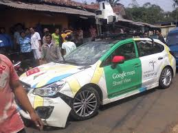 Meme Mobil - google street view car has accident 1 google know your meme
