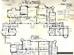chateau floor plans chateau de noisy floor plans plans villas castles