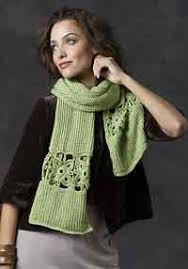 knitting pattern bacon scarf over 300 free crocheted scarf patterns at allcrafts