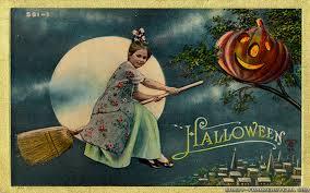 vintage halloween wallpaper
