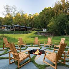 Adirondack Outdoor Furniture A Sleek Modern Update To The Classic Adirondack Chair The Aspen