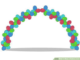 balloon arches 3 ways to make a balloon arch wikihow