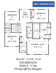 edenton house plan house plans by garrell associates inc edenton house plan 17 46 second level floor plan