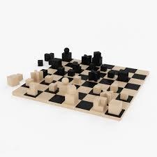 bauhaus chess set nouvo