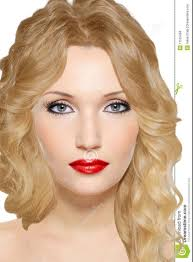 try on hairstyles using your own photo curly hair maroon lips created using taaz virtual makeover try