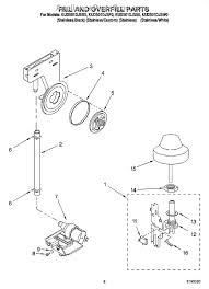 Dishwasher Leaks Water Whirlpool 8193508 Water Inlet Kit Appliancepartspros Com