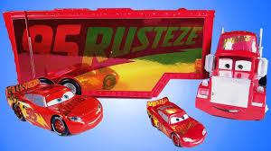 disney cars 3 toys 95 rusteze race track mack u0026 lightning mcqueen