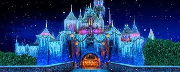 festive holidays celebration disneyland resort