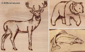 Free Wood Burning Designs For Beginners by Wood Carving Deer Patterns Patterns Kid