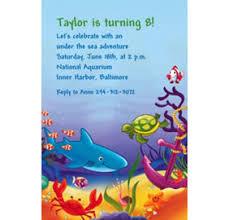 custom deep sea fun ocean theme invitations u0026 thank you notes