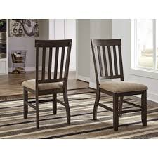 dresbar dining room table dresbar dining uph side chair cream set of 2 d485 01 by