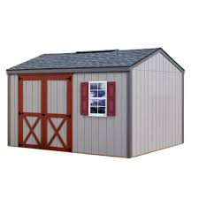 Outdoor Shed Kits by Best Barns Belmont 12 Ft X 20 Ft Wood Storage Shed Kit With