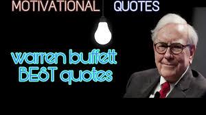 quote from warren buffett warren buffett best motivational quotes hindi youtube